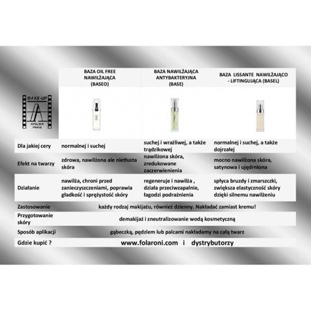 Baza nawilżająca-beztłuszczowa - Base Oil Free 5 ml