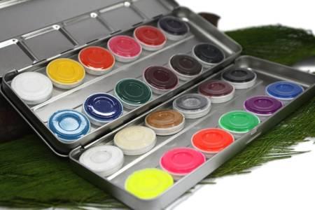 Paleta farb wodnych (12kol.) - Watercolor Palette