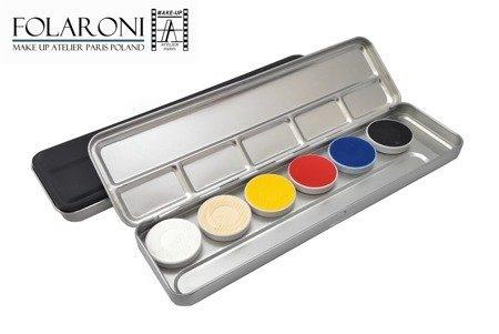 Paleta farb wodnych (6kol.) - Watercolor palette